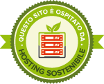 questo sito  ospitato da www.hostingsostenibile.it