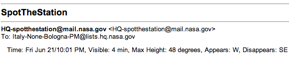 Gmail SpotTheStation