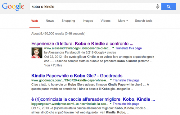 kobo o kindle