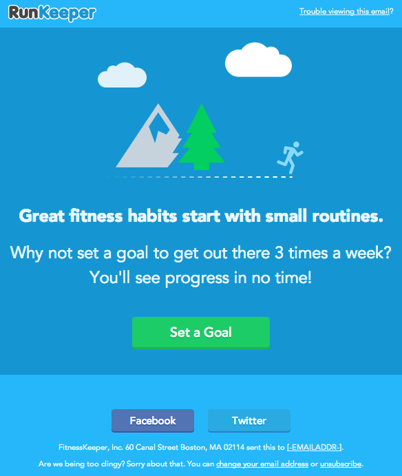 We miss you runkeeper