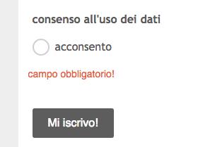 MailChimp tips] Form di MailChimp a prova di privacy | Alessandra ...