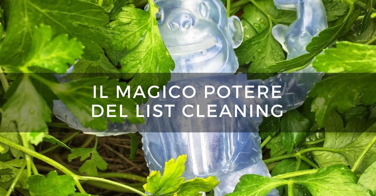 Il magico potere del list cleaning alessandra farabegoli for Il magico potere del sbattersene il cazzo